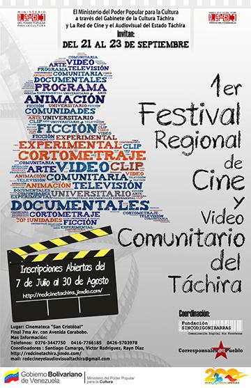 Festival de Cine y Video Comunitario en Tachira