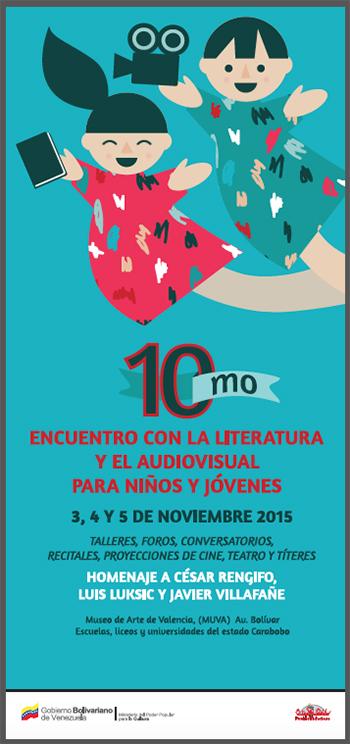 Décimo Encuentro con la literatura y el audiovisual