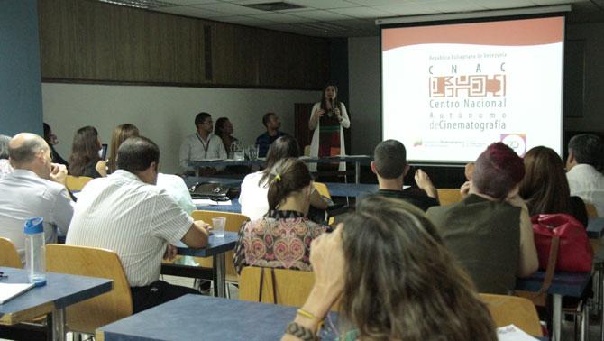 Jornada sobre Promoción y Distribución de Cine Venezolano