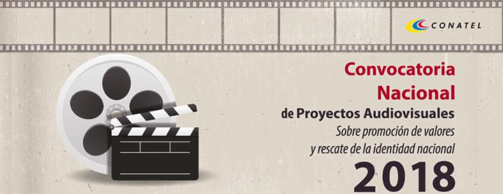 Convocatoria Nacional para Proyectos Audiovisuales 2018